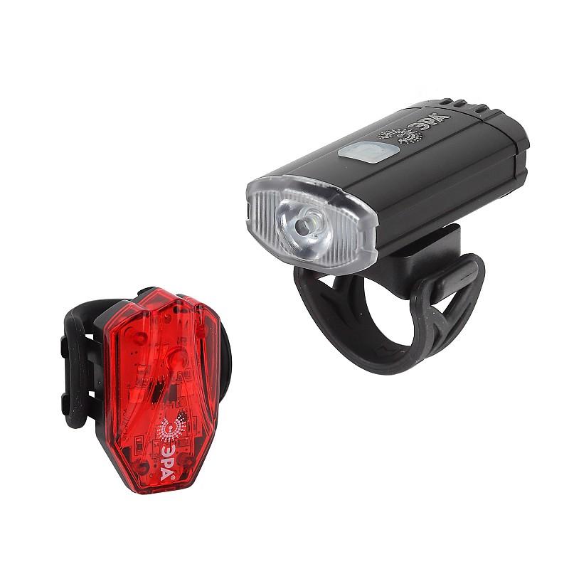 VA-801  VA-801 Фонарь ЭРА Фонарь ЭРА Вело  2 в 1 Основной CREE XPG + подсветка SMD,  mocro USB, 800mA/ч., бл / Велосипедные фонари / Фонари